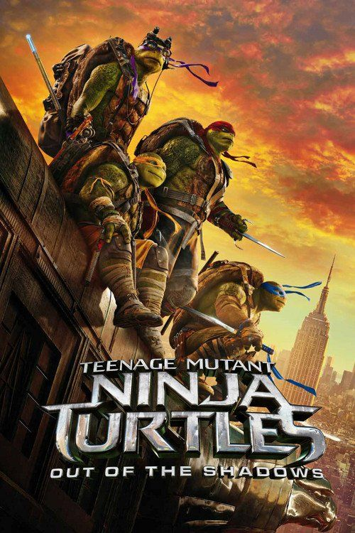 """Poster for the movie """"Teenage Mutant Ninja Turtles: Out of the Shadows"""""""