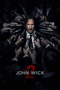 "Poster for the movie ""John Wick: Chapter Two"""