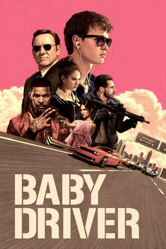 "Poster for the movie ""Baby Driver"""