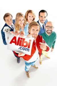 "Poster for the movie ""Alibi.com"""