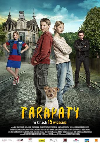 """Poster for the movie """"Tarapaty"""""""