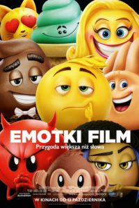"Poster for the movie ""Emotki. Film"""