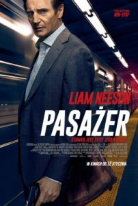 "Poster for the movie ""Pasażer"""