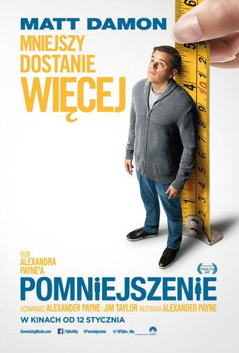 "Poster for the movie ""Pomniejszenie"""