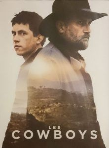 "Poster for the movie ""Les Cowboys"""