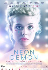 "Poster for the movie ""Neon Demon"""