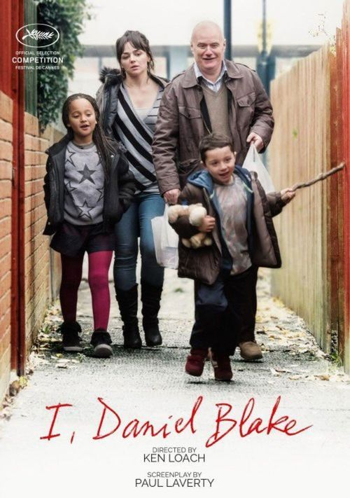 "Poster for the movie ""I, Daniel Blake"""
