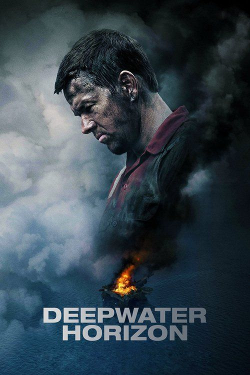 "Poster for the movie ""Żywioł. Deepwater Horizon"""