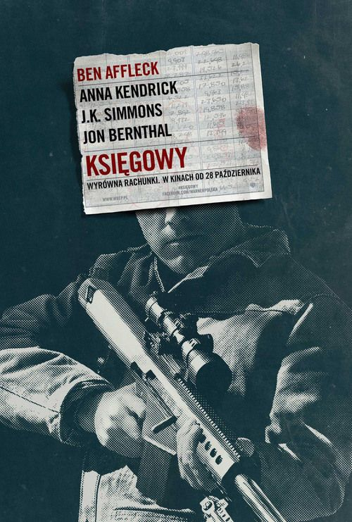 "Poster for the movie ""Księgowy"""