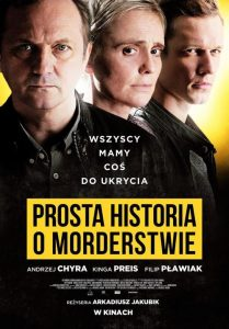 "Poster for the movie ""Prosta historia o morderstwie"""
