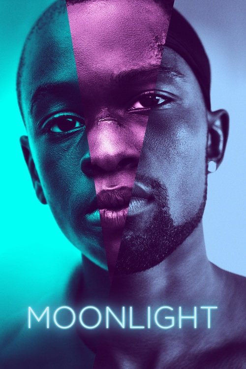 "Poster for the movie ""Moonlight"""