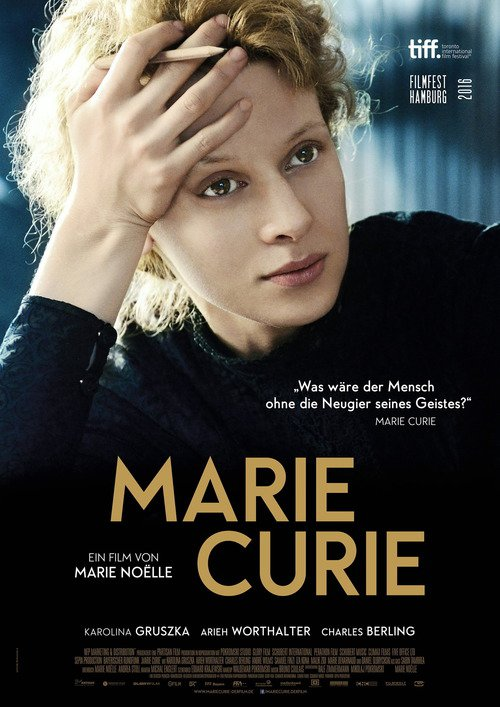 "Poster for the movie ""Maria Skłodowska-Curie"""