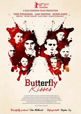 """Poster for the movie """"Butterfly Kisses"""""""