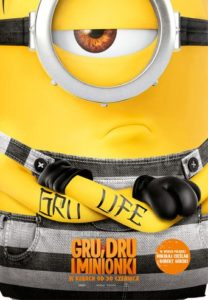"Poster for the movie ""Gru, Dru i Minionki"""