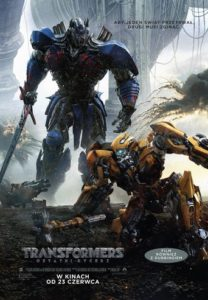"Poster for the movie ""Transformers: Ostatni Rycerz"""