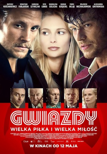 "Poster for the movie ""Gwiazdy"""