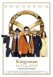"Poster for the movie ""Kingsman: Złoty krąg """