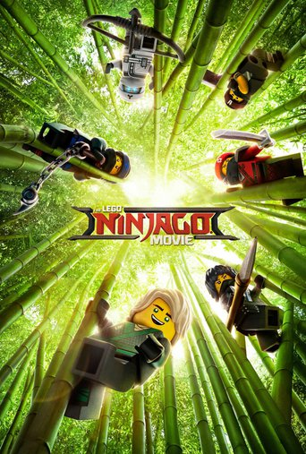 "Poster for the movie ""LEGO® NINJAGO: FILM"""