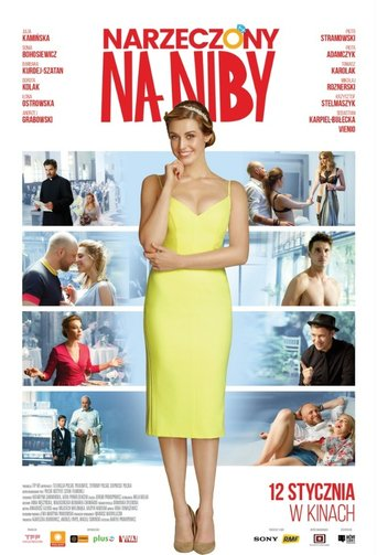 "Poster for the movie ""Narzeczony na niby"""