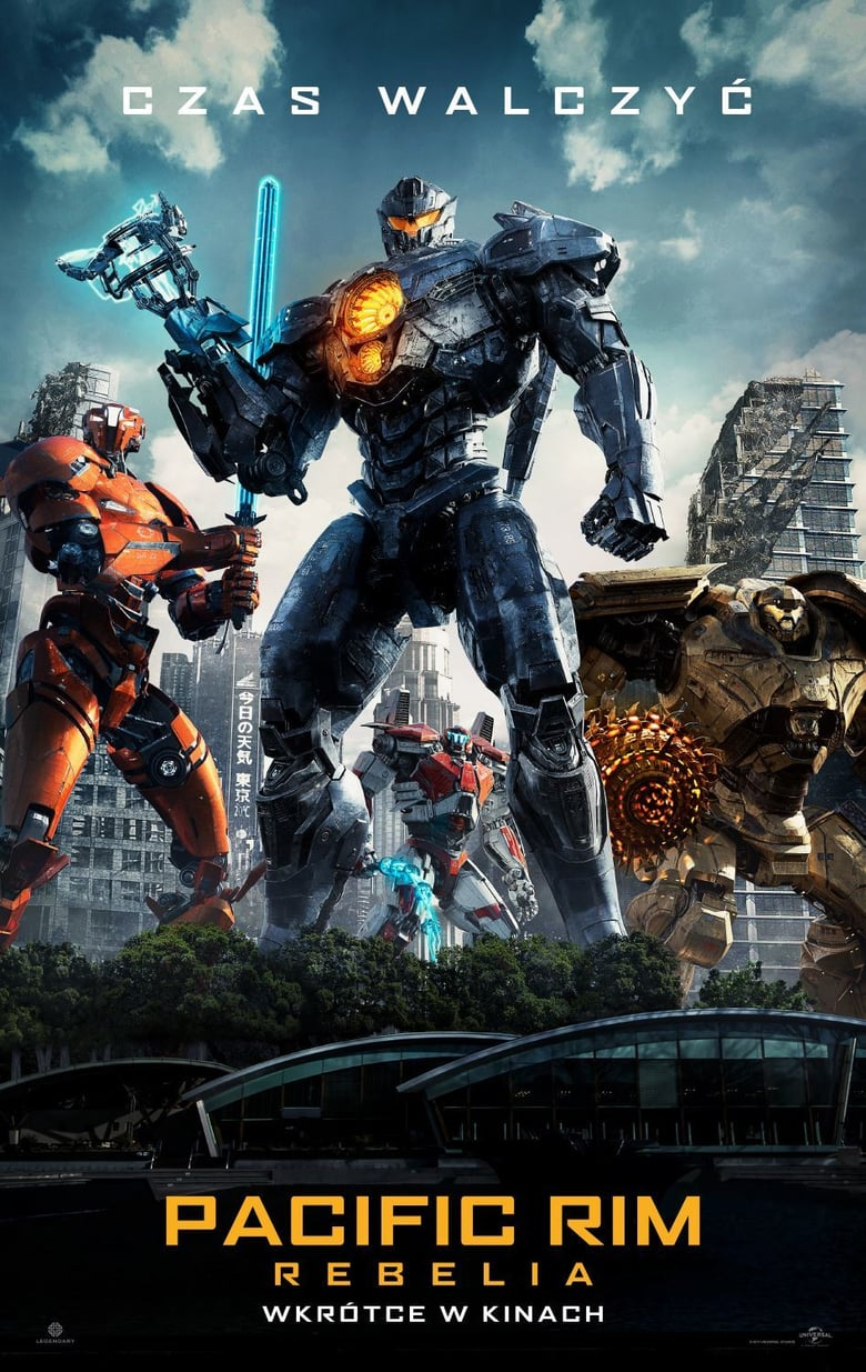 "Poster for the movie ""Pacific Rim: Rebelia"""