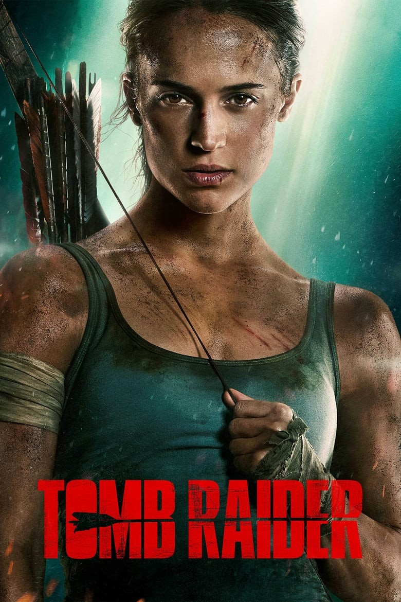 "Poster for the movie ""Tomb Raider"""