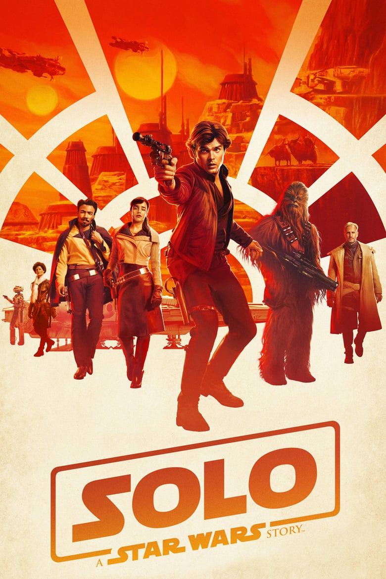 "Poster for the movie ""Han Solo: Gwiezdne wojny - historie"""