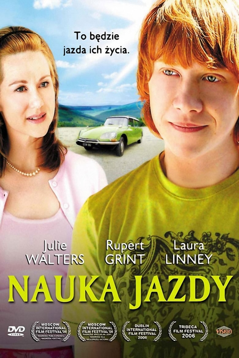 "Poster for the movie ""Nauka jazdy"""
