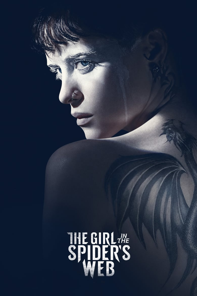 "Poster for the movie ""The Girl in the Spider's Web"""