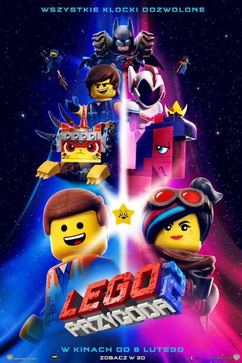 "Poster for the movie ""LEGO PRZYGODA 2"""