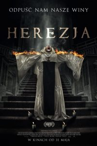"Poster for the movie ""Herezja"""