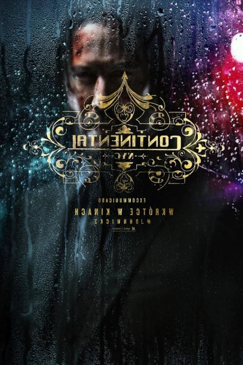 "Poster for the movie ""John Wick 3"""