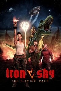 "Poster for the movie ""Iron Sky. Inwazja"""