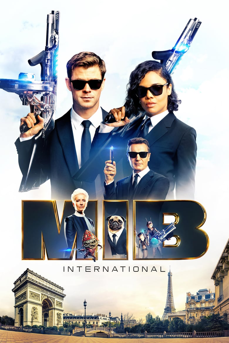 "Poster for the movie ""Men in Black: International"""