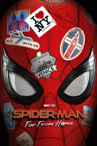 "Poster for the movie ""Spider-Man: Daleko od domu"""