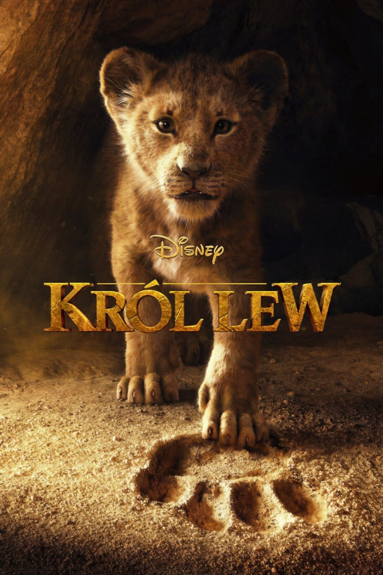 "Poster for the movie ""Król lew"""