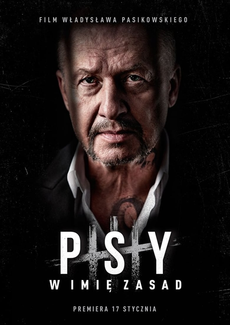 "Poster for the movie ""Psy 3: W imię zasad"""