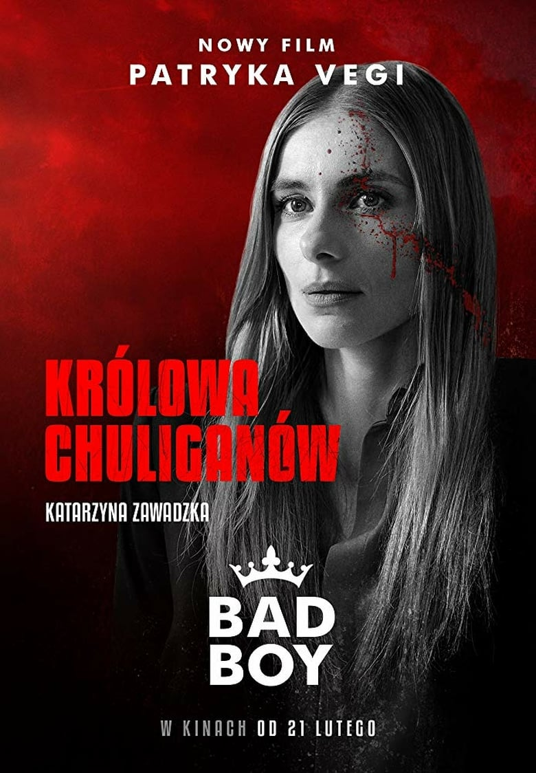 "Poster for the movie ""Bad Boy"""