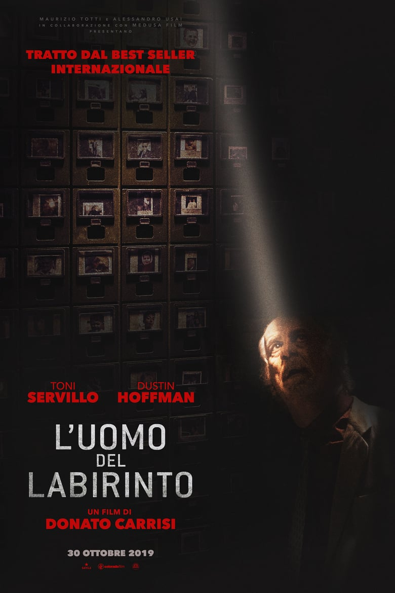 "Poster for the movie ""L'uomo del labirinto"""
