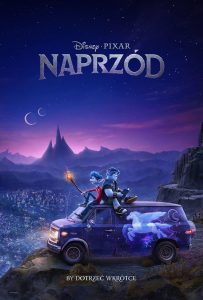 "Poster for the movie ""Naprzód"""