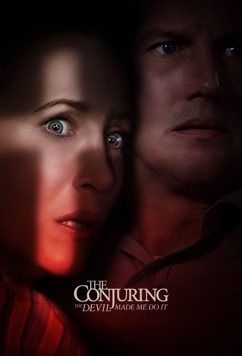 """Poster for the movie """"The Conjuring: The Devil Made Me Do It"""""""